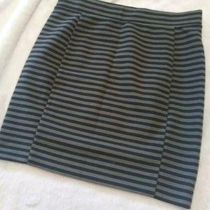 Madewell ribbed skirt size small